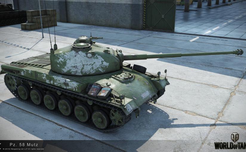 Der neue Premiumpanzer Mutz.